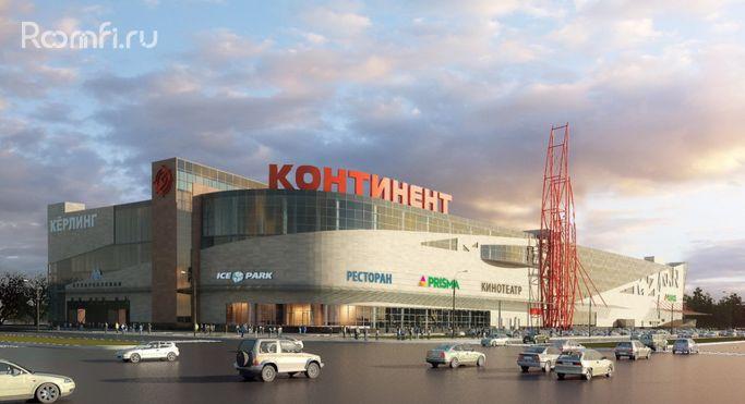Торгово-развлекательный центр «Континент на Бухарестской» - фото 1. Масштаб  ТЦ 57d7c57e50d